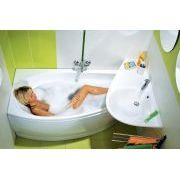 Акриловая ванна Ravak Avocado 150x75 L в интерьере