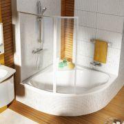 Акриловая ванна NewDay 150x150 в интерьере