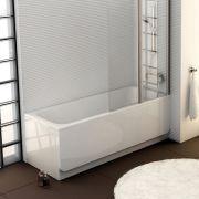 Акриловая ванна Chrome 160x70 в интерьере