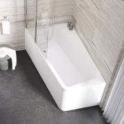 Акриловая ванна Ravak 10° 170х100 L в интерьере