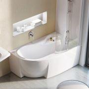 Акриловая ванна Ravak Rosa 95 150x95 P в интерьере