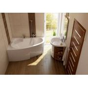 Акриловая ванна Ravak Asymmetric 160х105 L в интерьере
