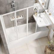 Акриловая ванна Ravak BE HAPPY II 150х75 P в интерьере
