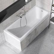 Акриловая прямоугольная ванна Ravak 10° 170х75 в интерьере