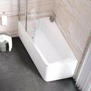 Шторка для ванны Ravak 10CVS2 левая в интерьере