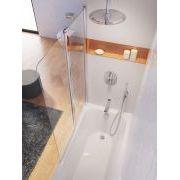 Шторка для ванны Ravak CVS2 левая в интерьере