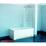 Шторка для ванны Ravak PVS1 правая в интерьере