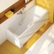 Акриловая прямоугольная ванна Classic 150x70 в интерьере