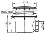 Сифон Standard - схема