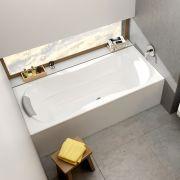 Акриловая ванна Campanula II 180x80 в интерьере