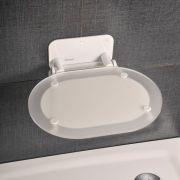 Сиденье CHROME CLEAR/WHITE
