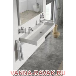 Умывальник Ravak Natural Duo 1200 в интерьере