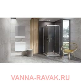 Душевой уголок Ravak 10° 10RV2K 120х120 в интерьере