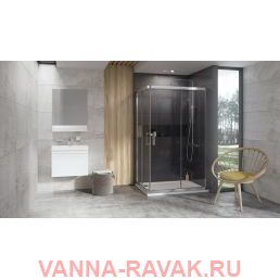 Душевой уголок Ravak 10° 10RV2K 80х90 в интерьере