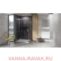 Душевой уголок Ravak 10° 10RV2K 80х120 в интерьере